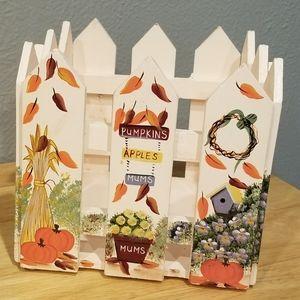 Wooden Autumn Basket